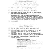 Go to Michigan Nonprofit Forum 1990-09-26 steering committee agenda item page