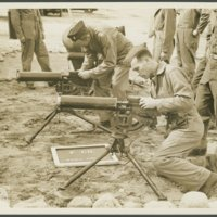 Go to Officers Specialists School machine gun classes at Camp Edwards