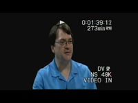 Weaver, David, Sr.(Interview outline and video), 2014